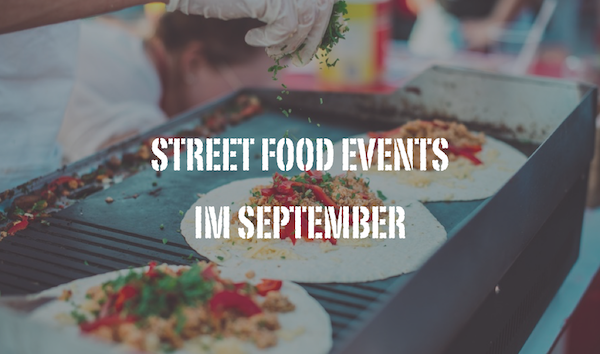 Street Food Events im September